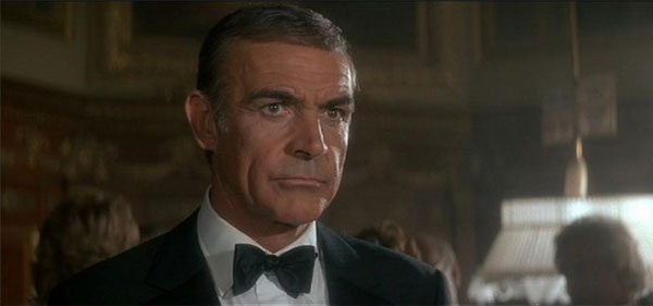 World Cinema Paradise Bond Is Back Sean Connery S Farewell To 007