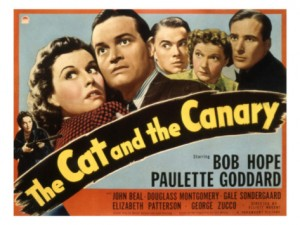 Cat and the Canary, Hope, Goddard, and cast