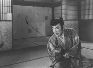 Image from Tomu Uchida's Swords in the Moonlight, Part II (1958)