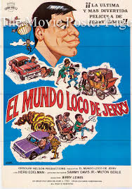CRACKING UP Spanish poster